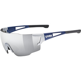 UVEX Sportstyle 804 Glasses silver blue metallic/mirror silver